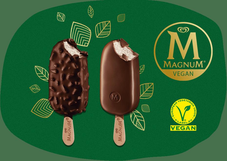 Magnum vegan produkter
